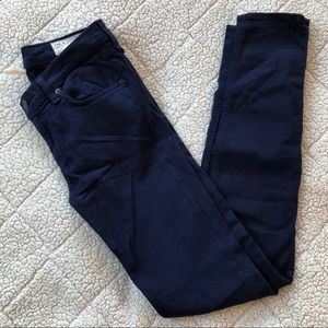 rag & bone Skinny Navy Jeans
